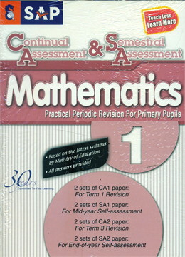 Continual & Semestral Assessment Maths 1