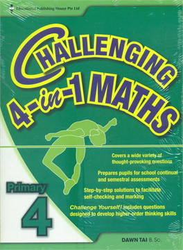 P4 Challenging 4-in-1 Maths (New Syll)