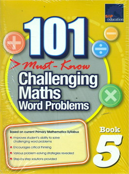 101 Must Know Challenging Maths Word 5