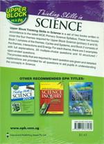 Upper Block Thinking Skills in Science 2