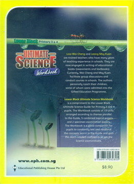 Lower Block Ultmate Science Workbook