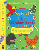 My First 123 Sticker Book