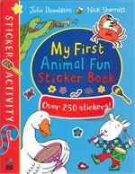 My First Animal Fun Sticker Book
