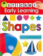 Shapes (Sticker Early Learning)