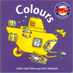 Amazing Machines First Concepts: Colour