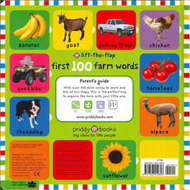 First 100 Lift The Flap: Farm Words