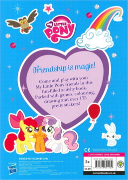 My little pony sticker and activity book