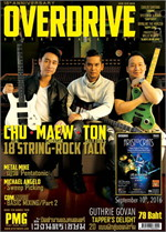Overdrive Guitar Magazine Issus 210