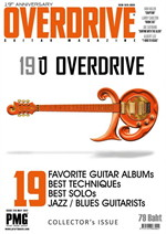 Overdrive Guitar Magazine Issus 219