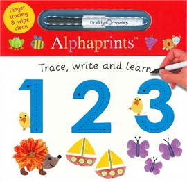 Alphaprints: Trace, Write & Learn 123