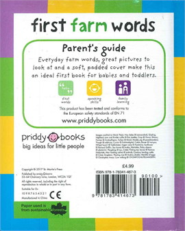 First 100 Soft To Touch: First Farm Words