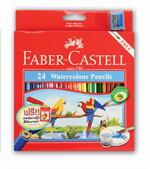 Faber Castel สีไม้ ระบายน้ำ 24 สี