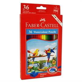FABER CASTELL สีไม้ระบายน้ำ 36 สีกระดาษ