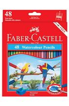 FABER CASTELL สีไม้ระบายน้ำ 48 สีกระดาษ