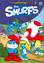 THE SMURFS FUN COLOURING BOOK 3