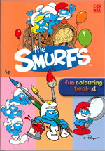 THE SMURFS FUN COLOURING BOOK 4