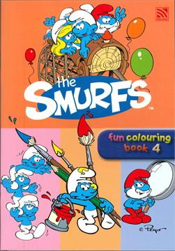 THE SMURFS FUN COLOURING BOOK 4