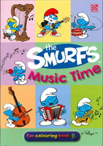 THE SMURFS FUN COLOURING BOOK 8