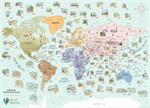 Good Weather World Scratch Map