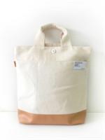 กระเป๋าผ้าแคนวาส Totebag สีครีมขาว