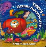 Tiger's Ocean Adventure:A Peek-Through