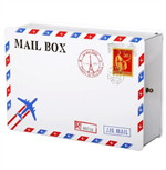 Mail Box Air Mail France StampS