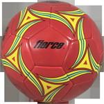 ลูกฟุตบอล PVC หนังเย็บ เบอร์ 5 สีแดง
