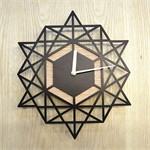 Geomatric wall clock