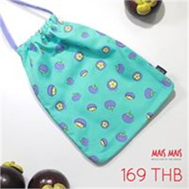 Mangosteen Drawstring Bag