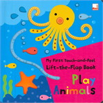 MY FIRST -THE-FLAP PLAY ANIMALS