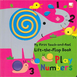 MY FIRST -THE-FLAP PLAY NUMBER