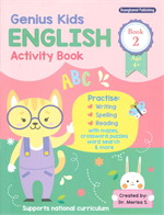 Genius Kids ENGLISH Activity Book 2