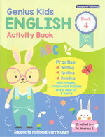Genius Kids ENGLISH Activity Book 4
