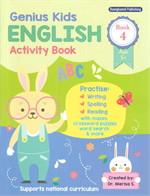Genius Kids ENGLISH Activity Book 4