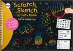 สมุดภาพ Scratch Sketch activity book ผลไม้แสนอร่อย