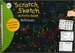 สมุดภาพ Scratch Sketch activity book สัตว์ป่าน่ารัก