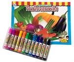 Set กระเป๋ากินผักจอมพลัง + สีเมจิก
