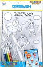 ระบายสีสติ๊กเกอร์นูน Doraemon