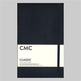 สมุดแพลนเนอร์ไม่ระบุวัน CLASSIC A5 สีดำ