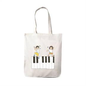 กระเป๋าผ้า มุนิน ลาย piano