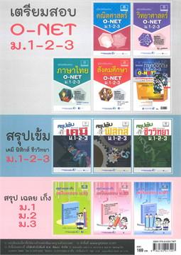 คัมภีร์คณิตศาสตร์ พื้นฐาน ม.1 เล่ม 1-2
