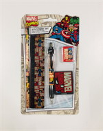 5-PieceStationerySet-Marvel (Block Logo)