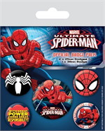 Badge packs (setof5)-Ultimate Spider-Man