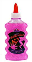 ELMER'S GLITTER GLUE PINK 6OZ