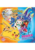 Pokemon SUN&MOON PUZZLE STORY BOOK