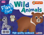 Flash Card : Wild Animals (Talking Pen)