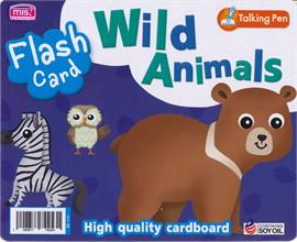 Flash Card : Wild Animals (Talking Pen)