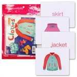 Flash Cards : Clothes (Talking Pen)