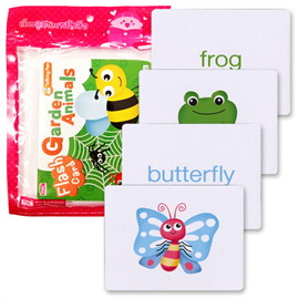 Flash Cards : Garden Animals (Talking Pen)
