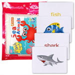 Flash Cards : Sea Animals (Talking Pen)